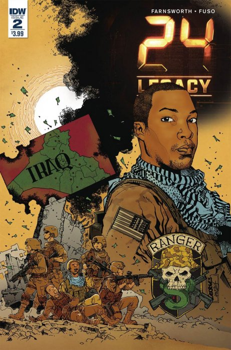 IDW Comics - 24: Legacy: Rules Of Engagement #2 (Oferta de Capa Protectora)