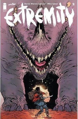 Image Comics - Extremity #2 (oferta capa protetora)