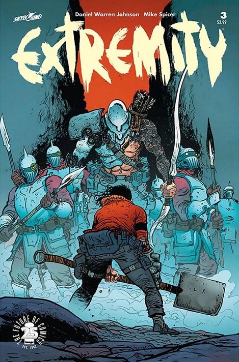 Image Comics - Extremity #3 (oferta capa protetora)