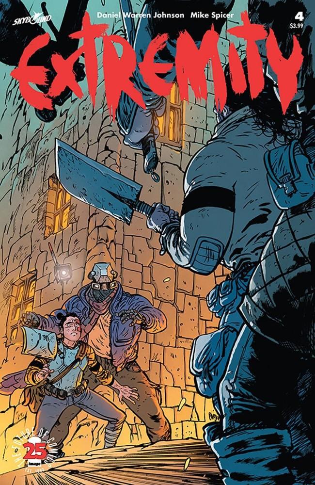 Image Comics - Extremity #4 (oferta capa protetora)