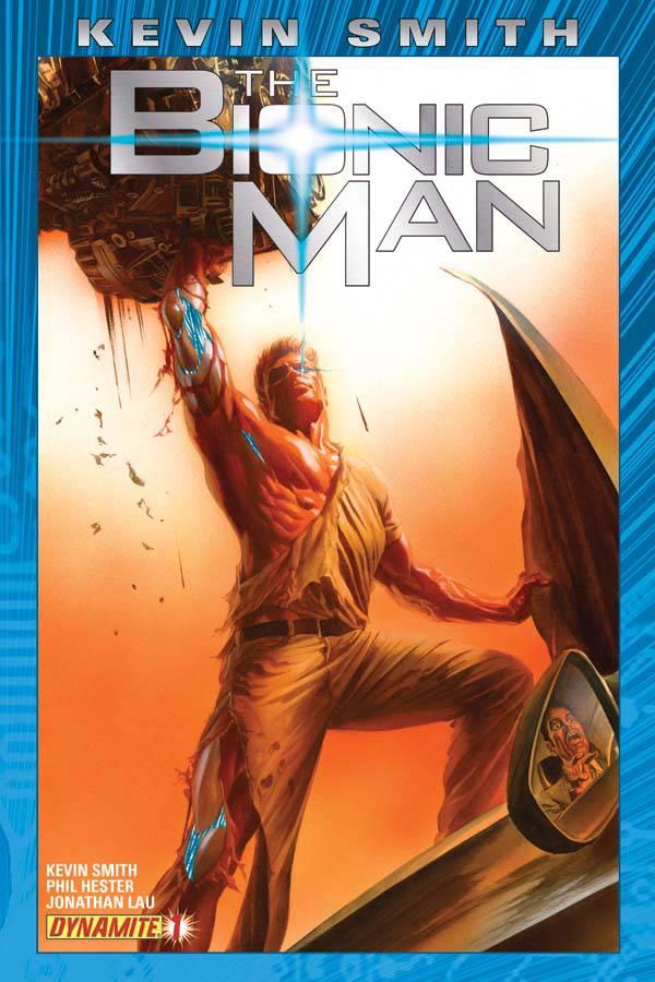 Dynamite Comics - Kevin Smith The Bionic Man #1 (Oferta de Capa Protectora)