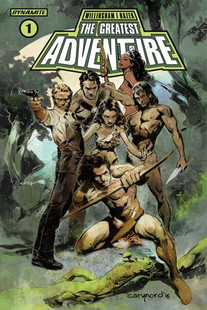 Dynamite Comics - The Greatest Adventure #1 (Oferta de Capa Protectora)