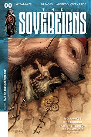 Dynamite Comics - The Sovereigns #0 (Oferta de Capa Protectora)
