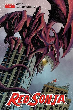 Dynamite Comics - Red Sonja #5 (Oferta de Capa Protectora)