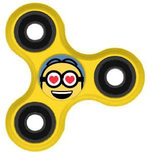 Despicable Me Fidget Spinner Minion Lover