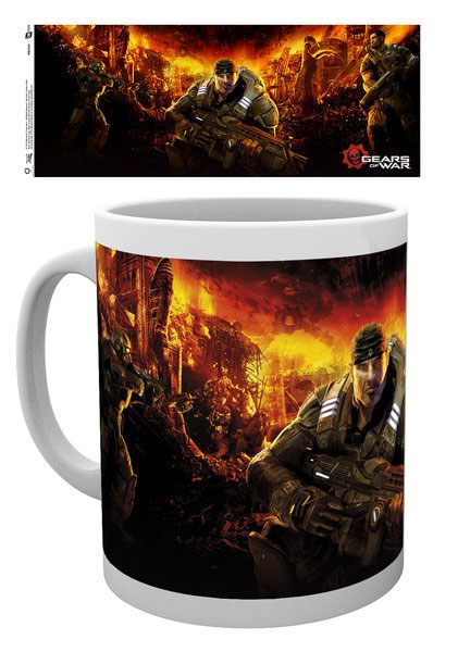 Caneca Gears of War Key Art 3