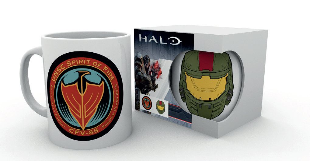 Caneca Halo Wars 2 Spirit of Fire