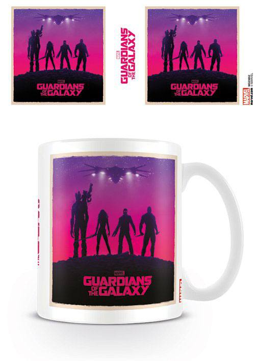 Caneca Guardians of the Galaxy Ship