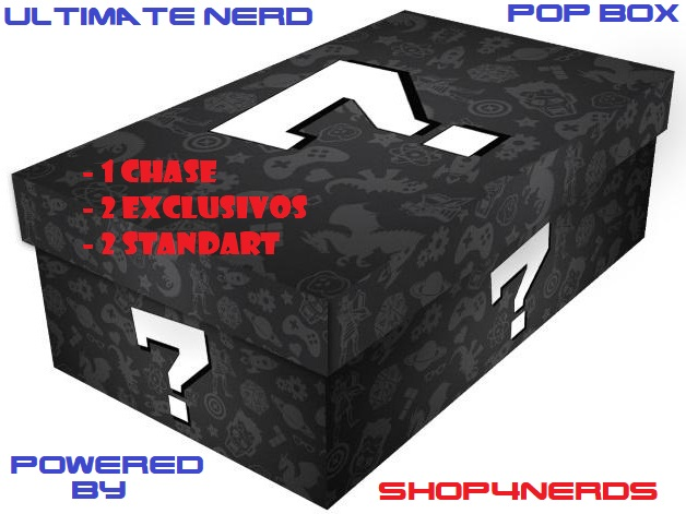 Ultimate Nerd Pop Box