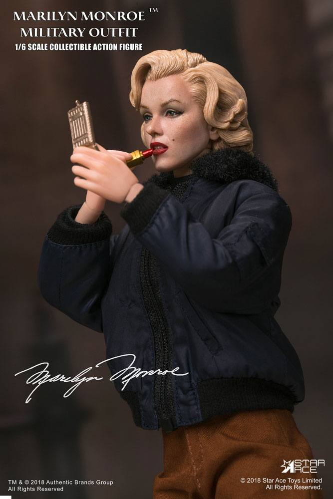 Marilyn Monroe My Favourite Legend Action Figure 1/6 Military Outfit 29 cm