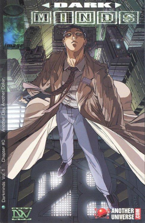 Image Comics - Dark Minds Vol.1 (Oferta de Capa Protectora)