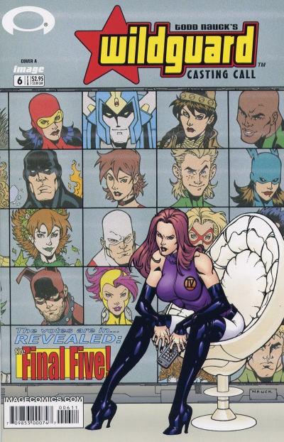 Image Comics - Wildguard Casting Call #6 (Oferta de Capa Protectora)