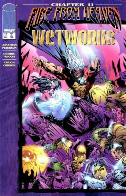 Image Comics - Fire From Heaven Wet Works #11 (Oferta de Capa Protectora)