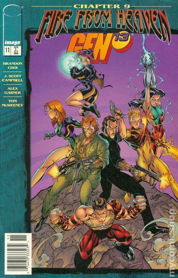 Image Comics - Fire From Heaven Wet Works #9 (Oferta de Capa Protectora)