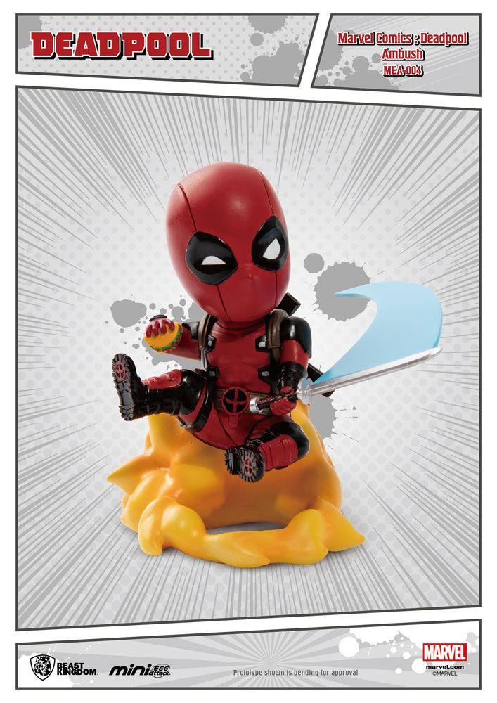 Marvel Comics Mini Egg Attack Figure Deadpool Ambush 9 cm