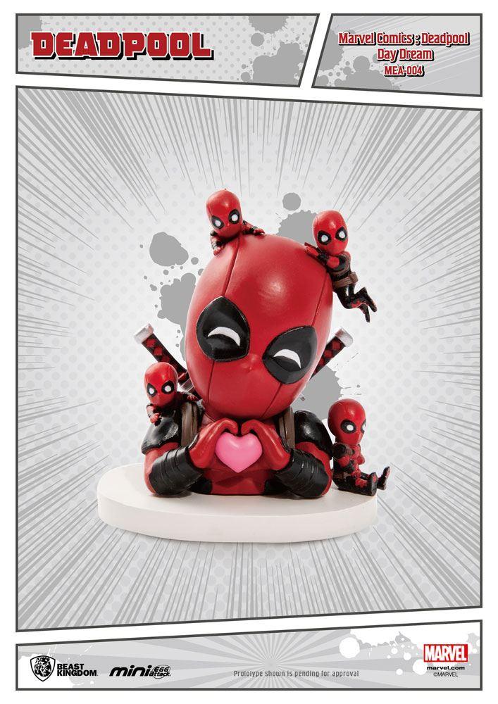 Marvel Comics Mini Egg Attack Figure Deadpool Day Dream 6 cm