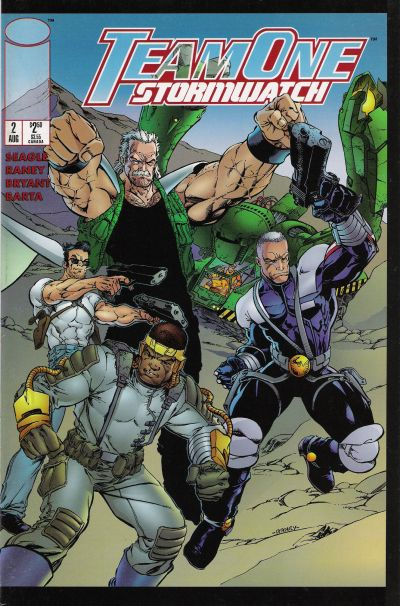 Image Comics - Team One Stormwatch # 2 (Oferta de Capa Protectora)