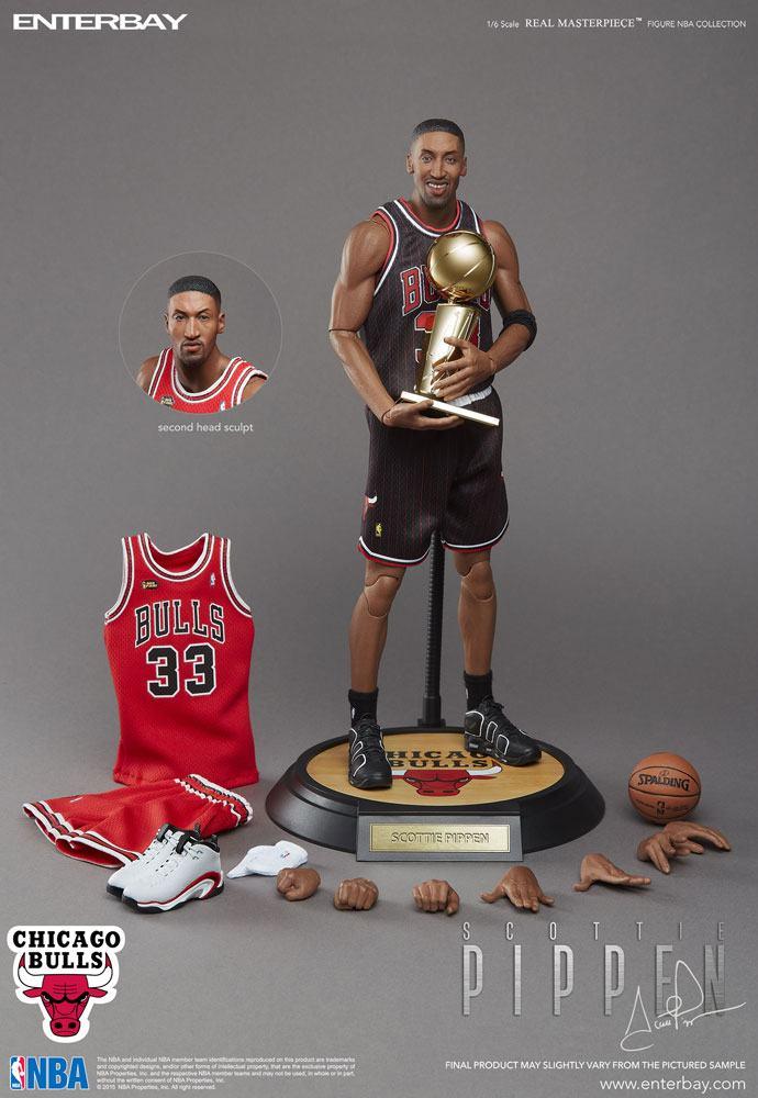 NBA Collection Real Masterpiece Actionfigur 1/6 Scottie Pippen 30 cm