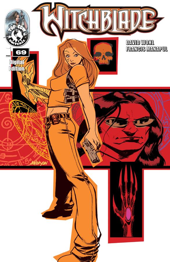 Top Cow - Hitchblade #69 (Oferta de Capa Protectora)