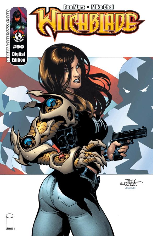 Top Cow - Hitchblade #90 (Oferta de Capa Protectora)