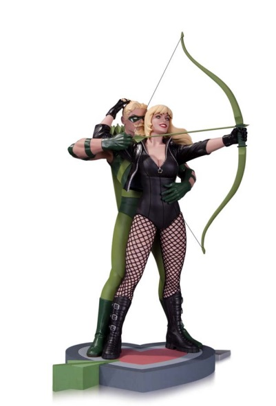 Green Arrow and Black Canary Statue 30 cm