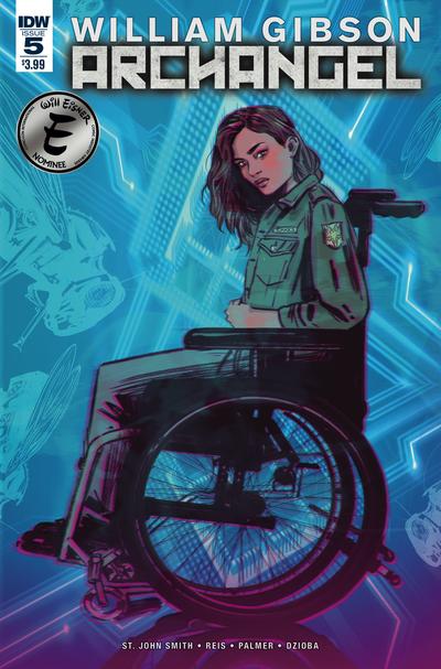 IDW Comics - ARCHANGEL #5 (Oferta Capa Protectora)