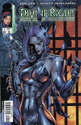 Image Comics - Divine Right #7 (Oferta de Capa Protectora)
