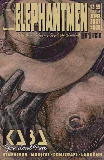 Image Comics - Elephantmen #9 (Oferta de Capa Protectora)