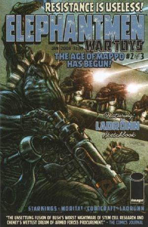 Image Comics - Elephantmen: War Toys #2 of 3 (Oferta de Capa Protectora)