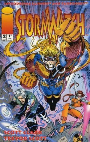 Image Comics - StormWatch #2  (oferta capa protetora)