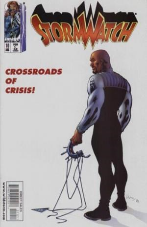 Image Comics - StormWatch #10  (oferta capa protetora)