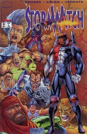 Image Comics - StormWatch #30  (oferta capa protetora)