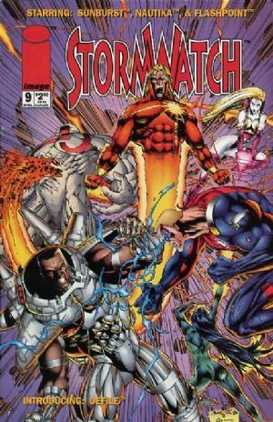 Image Comics - StormWatch #9  (oferta capa protetora)