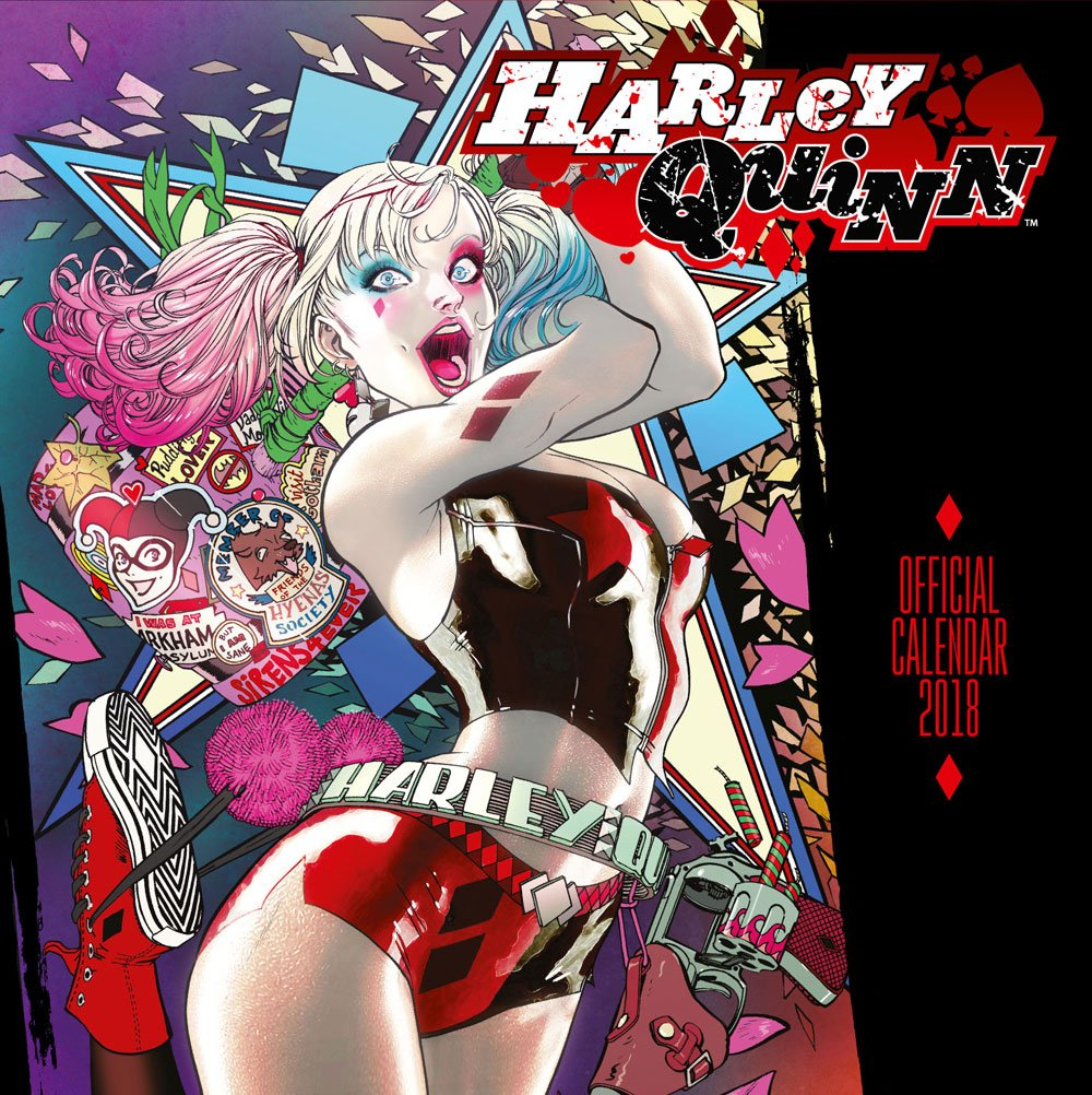 Calendário 2018 Harley Quinn English Version