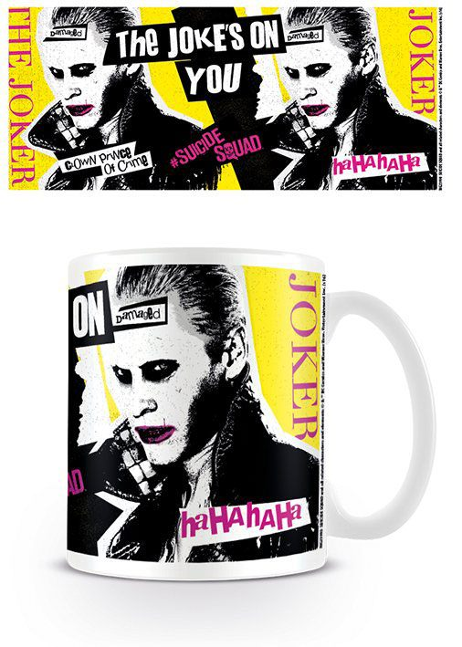 Caneca Suicide Squad The Jokes On You