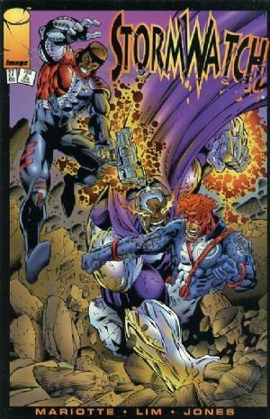 Image Comics - StormWatch #27 (oferta capa protetora)