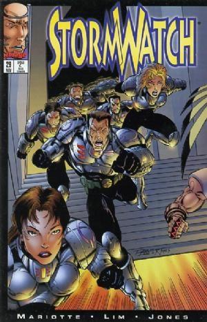 Image Comics - StormWatch #29 (oferta capa protetora)