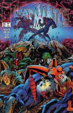 Image Comics - StormWatch #26 (oferta capa protetora)