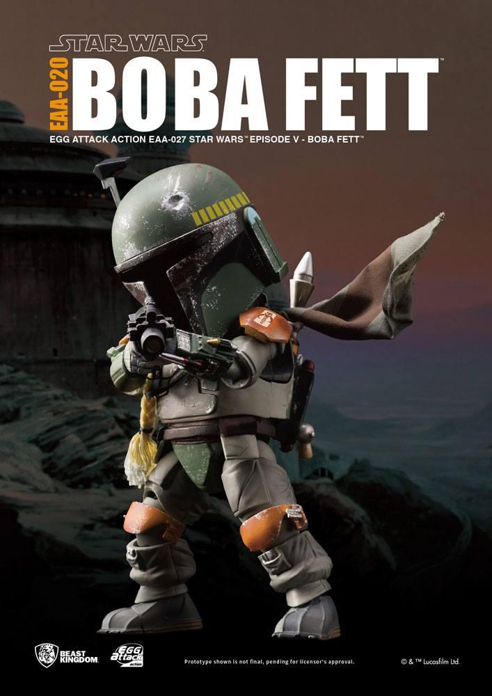 Star Wars Episode V Egg Attack Action Figure Boba Fett 16 cm