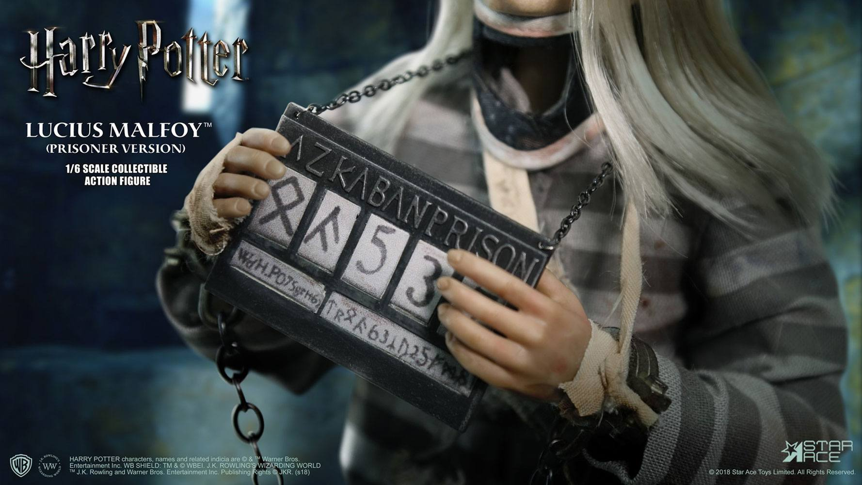 Harry Potter My Favourite Movie AF 1/6 Lucius Malfoy Prisoner Ver. 30 cm