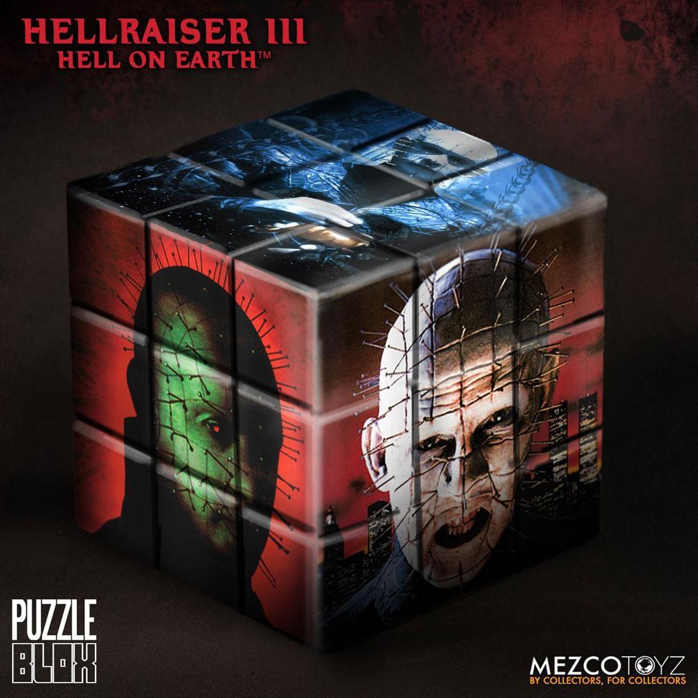 Hellraiser III Puzzle Blox Puzzle Cube Pinhead 9 cm