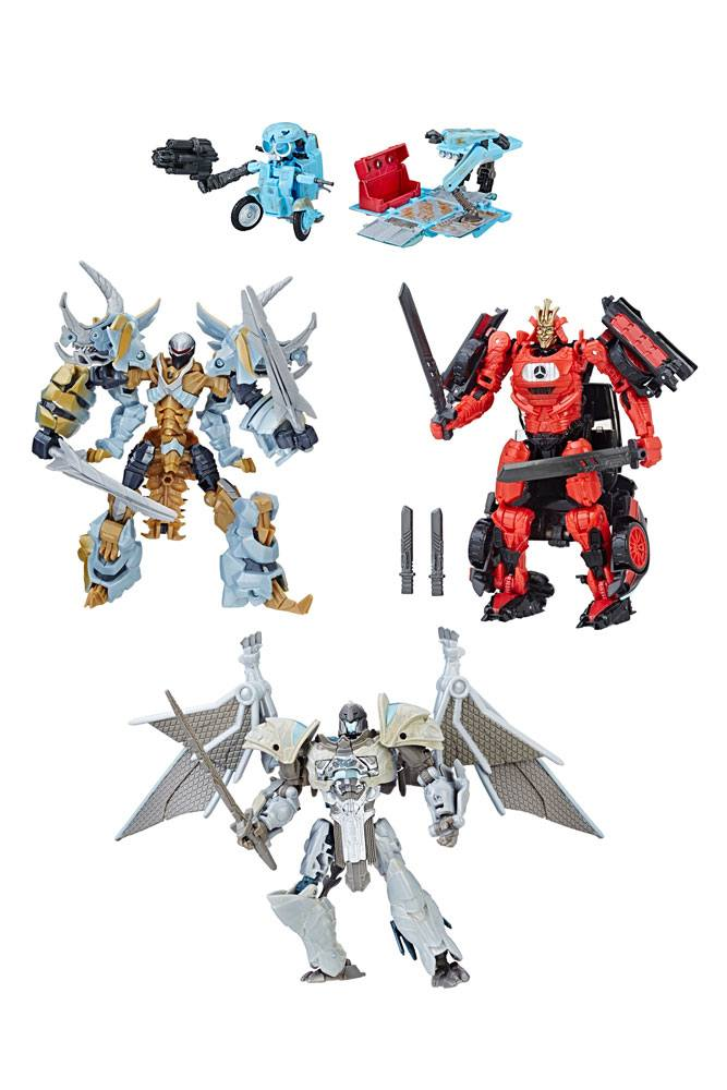 Transformers The Last Knight Premier Edition Deluxe 4-Pack Action Figures