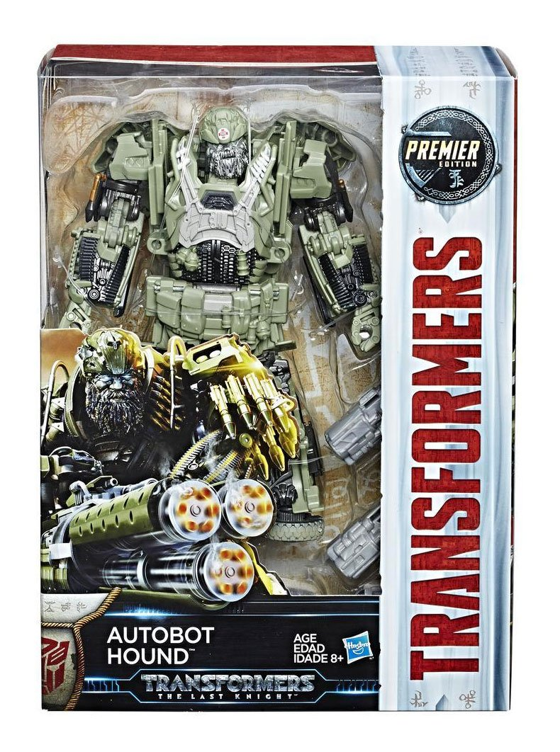 Transformers The Last Knight Premier Edition Voyager Class Action Figure