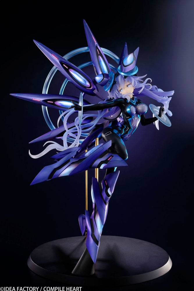 Megadimension Neptunia VII Statue 1/7 Next Purple 38 cm
