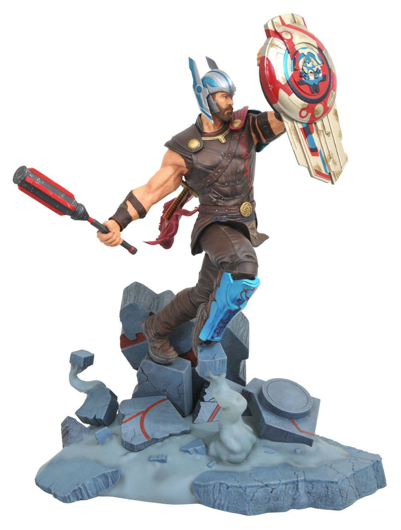 Thor Ragnarok Marvel Movie Milestones Statue Gladiator Thor 43 cm