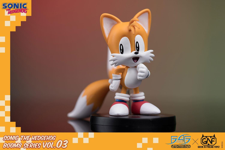 Sonic The Hedgehog BOOM8 Series PVC Figure Vol. 03 Tails 8 cm