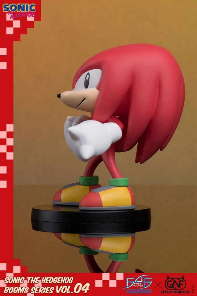 Sonic The Hedgehog BOOM8 Series PVC Figure Vol. 04 Knuckles 8 cm