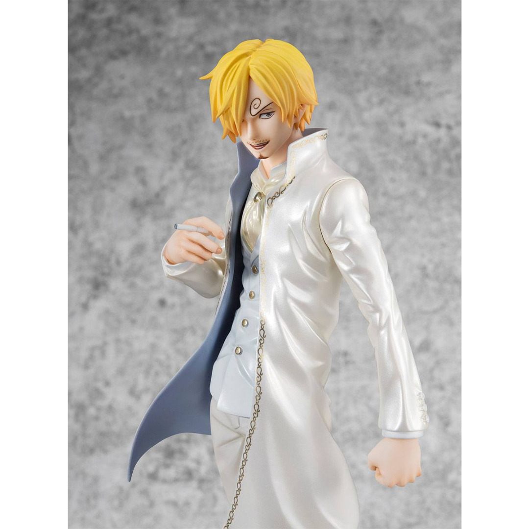 One Piece Excellent Model P.O.P Limited Edition PVC Statue 1/8 Sanji Ver WD