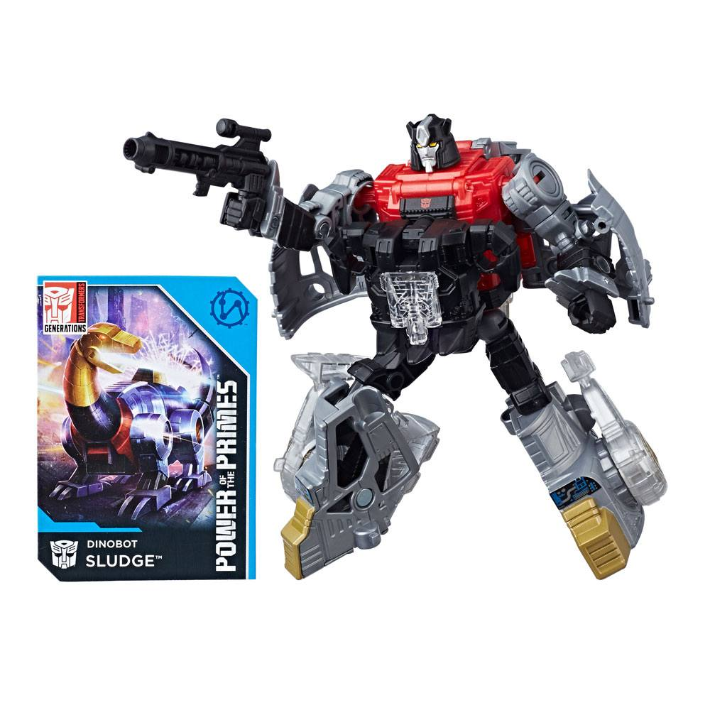 Transformers Generations Power of the Primes Action Figures Deluxe Class