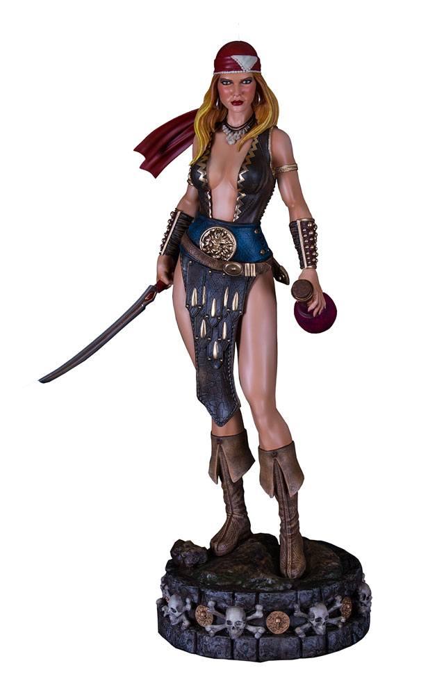 Arhian Head Huntress Statue 1/4 Arhian Pirate 58 cm